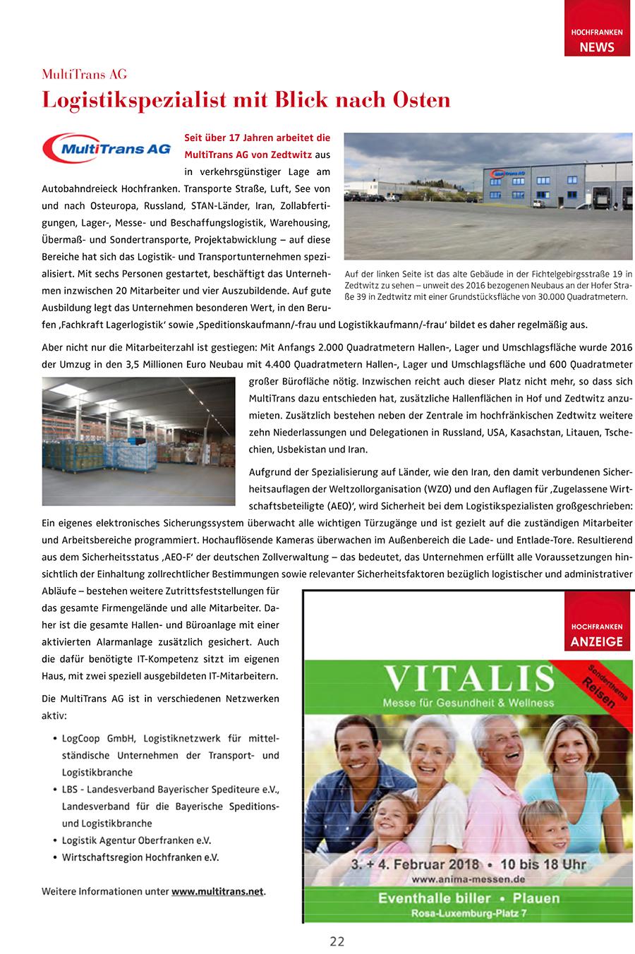 Hochfranken News