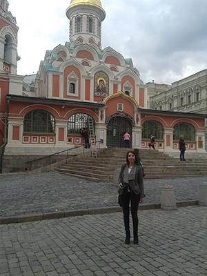 Moskau Besuch